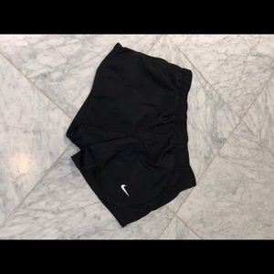 Black nike shorts- youth medium